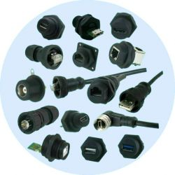 Waterproof Industrial I/O Connectors