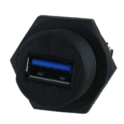 Panel-Mounting Connectors